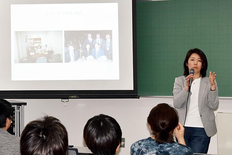 軒先株式会社の代表取締役・スキマハンターの西浦明子氏